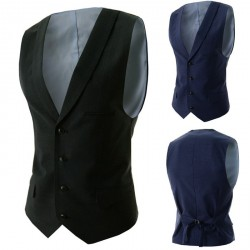 Lower selling prices of new models Men Slim vest