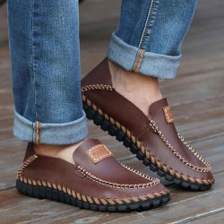 Fast shipping autumn new style men's shoes, men's casual shoes handmade shoes knit child fashion casual shoes for men