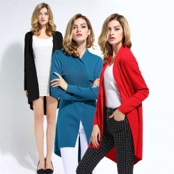 European stations Ms. installed new autumn discount European market and the US market bottoming autumn and winter high-end Slim cardigan sweater discount