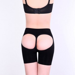 Autumn new style ladies underwear sexy hollow slim waist slim plastic body sculpting pants 75006