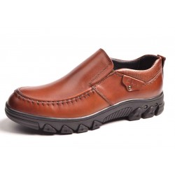 Fast delivery in Europe and America market winter new style leather men's casual shoes, low price shoes large size shoes