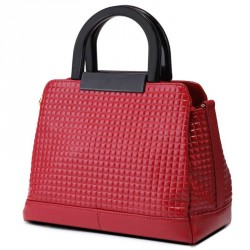 European market and the US market fashion leather handbag lady bag diamond pattern leather shoulder bag oblique Ms. Xiao Fang fast delivery