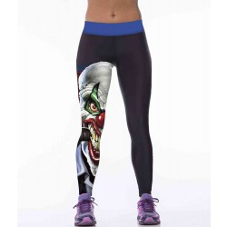Europe and the United States hot sales market sentiment superhero clown personalized digital printing running fitness yoga leggings Ms.