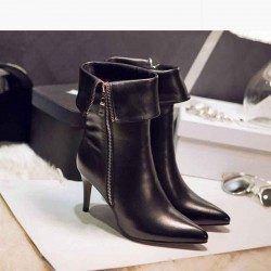 Fall Winter new style ladies' shoes in Europe and the US market fashion style pointed boots leather high-heeled boots, Ms. Promotions
