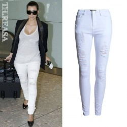 Europe and the United States market popular color pencil pants Slim pencil pants waist Slim Ms. Ms. dress pants low prices