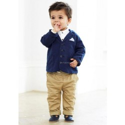 Fast delivery low price children's clothing boys suit three-piece suit dress pants shirts
