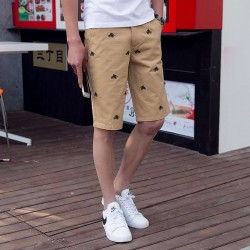 Low price hot summer new style embroidery pants Shorts Men's shorts Men