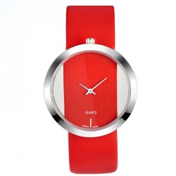 Ms. quartz watch popular material hollow design simple and elegant fashion student fashion watch hot sales trend