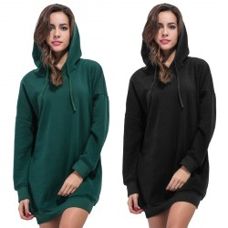 Casual Hooded Pullover Tops Blouse Hoodie for Women