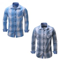 Buttoned Down Men's Classic Fit Button-Collar Pattern Casual Shirt