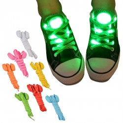 LED Light Shoelaces for Winter Boots