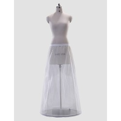 Gorgeous Polyester A-Line Full-Length Wedding Slip Style/Petticoat