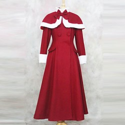 Cute Sweety Long Sleeve Velvet Princess Lolita Coat