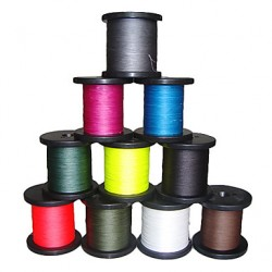 300M/330 Yards/500M/550 Yards Pe Braided Line/Dyneema/Superline Fishing Line White/Yellow/Fuchsia/Red/Blue/Coffee8Lb