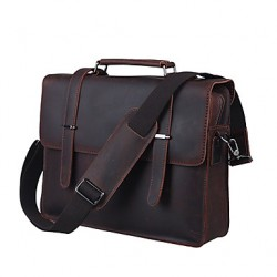 Men & #039;S Leather Retro Business Laptop Bag