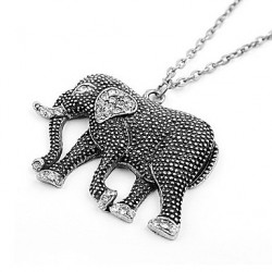 Bbl Women & #039;S Propitious Elephant Fashionable Elegant Necklace