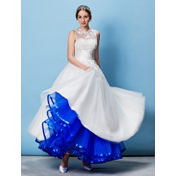 Colourful Ankle-Length Petticoat Ribbon Edge (More Colors)