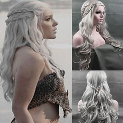 Cosplay Wig Inspired By Daenerys Targaryen Dragon Princess Game Of Thrones Braids Costume Wigs
