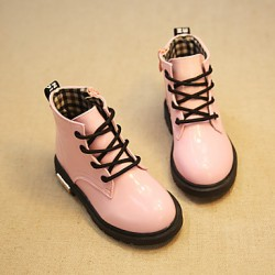 Children & #039;S Shoes Dress Round Toe Boots More Colors Available