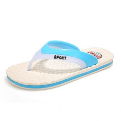 Men & #039;S Shoes Casual Rubber Slippers Blue/Green
