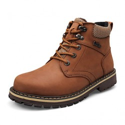 Bigs Size 38-50 Men & #039;S Shoes Outdoor/Office & Career/Casual Leather/Calf Hair Boots Black/Brown