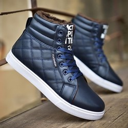 Men & #039;S Shoes Outdoor/Athletic/Casual Fashion Sneakers Black/Blue