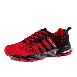 Men & #039;S Running Shoes Synthetic Green/Black And Red/Black And White