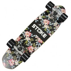 26 & Quot; X 7.2 & Quot; Cruiser Skateboard With Abec-9 Bearings 60 X 45Mm Wheels Floral Graphic