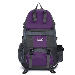 Unisex Canvas/Nylon Sports/Casual/Outdoor Backpack /Travel Bag-Purple/Blue/Orange/Black