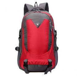 Unisex Canvas/Nylon Sports/Casual/Outdoor Backpack/Sports & Leisure Bag/Travel Bag-Green/Red/Black