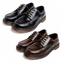 Men's Lace-up Modern Classic Oxford Leather Shoes