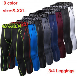 Compression Sports Tights Sweat Pants For Men Jogging Trousers Running Sporswear Fitness
