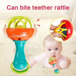 Baby Intelligence Grasping Gums Plastic Hand Bell