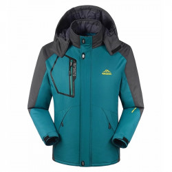 Men Outdoor Windproof Waterproof Multi-function Jacket