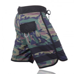 Men's Camouflage Print Quick-Drying lightweight Comfort Board Shorts