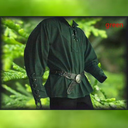 Medieval Shirt Knight Top Movie Cosplay