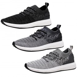Men Athletic Lightweight Breathable Running Shoes