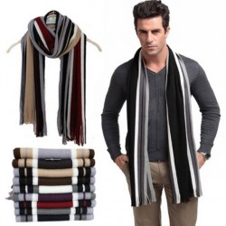 Fashion Male Scarfs Mens Winter Scarves Cotton Striped Shawls And Scarves Wrap, Echarpes Men/10 Colors/Atw