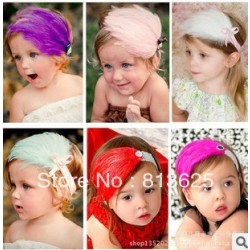 Baby Girl & #39;S Headband Headwear,Girls Topknot Hair Accessories,Infant Hair Band Hair Jewelry Free Shipping
