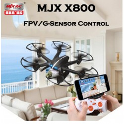 Free Shipping Mjx X800 /X800C 2.4G 6-Axis Rc Drone Helicopter Can Add C4005 Fpv Hd Wifi Camera White & Amp; Black Syma X5Sw X5C