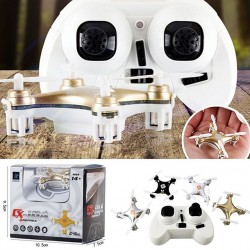 Big Promotion Sales Rc Helicopter Cheerson Cx-10A Rc Quadcopter 4Ch 2.4Ghz Headless Drone Mode Vs Cx-10 Cx10- White Color