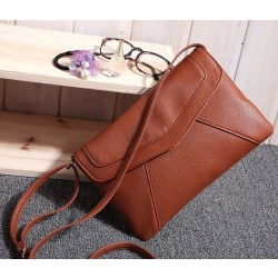 Fashion Vintage Small Envelope Bags Women & #39;S Leather Messenger Bag Handbags Shoulder Cross Body Bag Clutch Satchels 103Bag