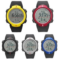 Bluelans 2017 New Men & #39;S Women & #39;S Waterproof Lcd Digital Stopwatch Date Rubber Sport Wristwatch 5Dim 5V4K