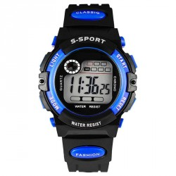 Popular children's waterproof sports watch boy student electronic watches hot sell fast sales promotion