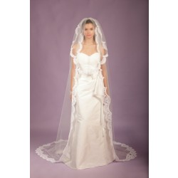 Long lace veil models in the European market and the US market sales of hot married bride married accessories veil veil necessary