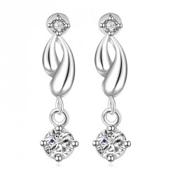 European market and the US market small jewelry fashion diamond earring long hot sales classic shape of a water droplet-shaped earrings aristocratic ladies temperament ear hook