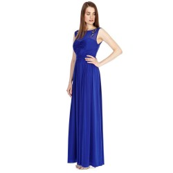 Low prices of high-grade chiffon evening gown fashion style long dress sexy evening gown Birthday Party