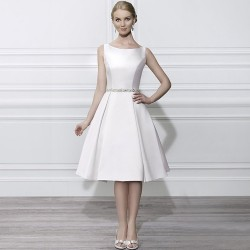 Low prices simple and elegant European market and the US market models Slim waist luxury long drill new style satin dress