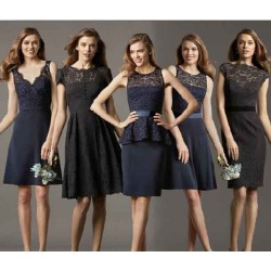 Discounts low price bridesmaid dress married short style dresses discount