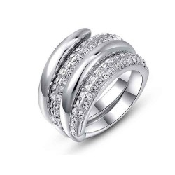 Alloy plating rings custom jewelry discount low price new style platinum jewelry fast delivery